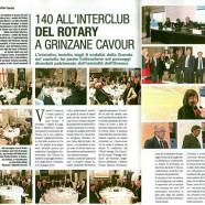 Interclub del Rotary a Grinzane Cavour